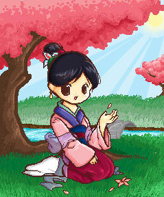 Mulan in Sakuraland by chibi-lemon