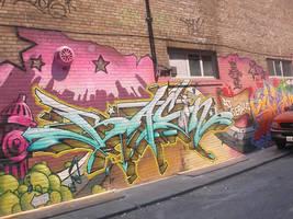 graffiti by mayaag
