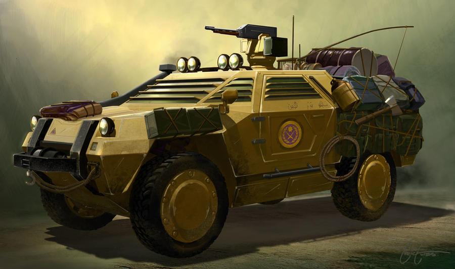 Patrol Vehicle by jimmyjimjim