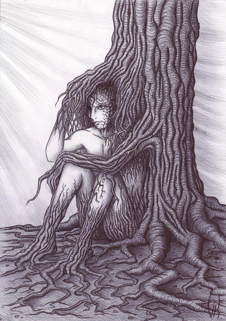 Human Tree by FakeSatan