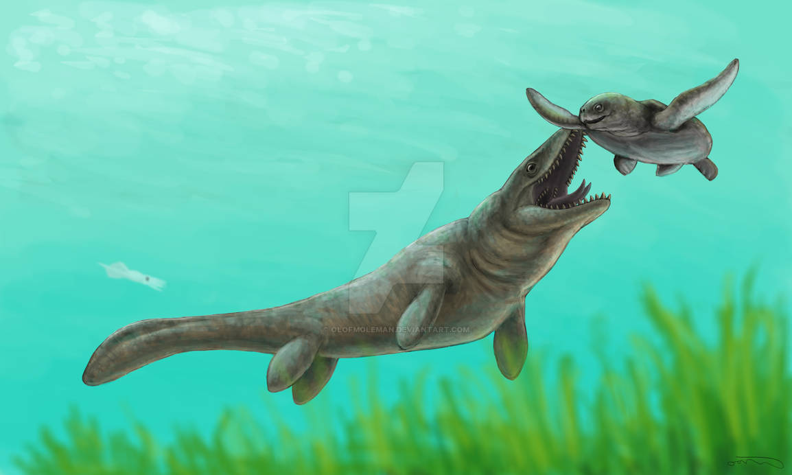 Mosasaur's Meal