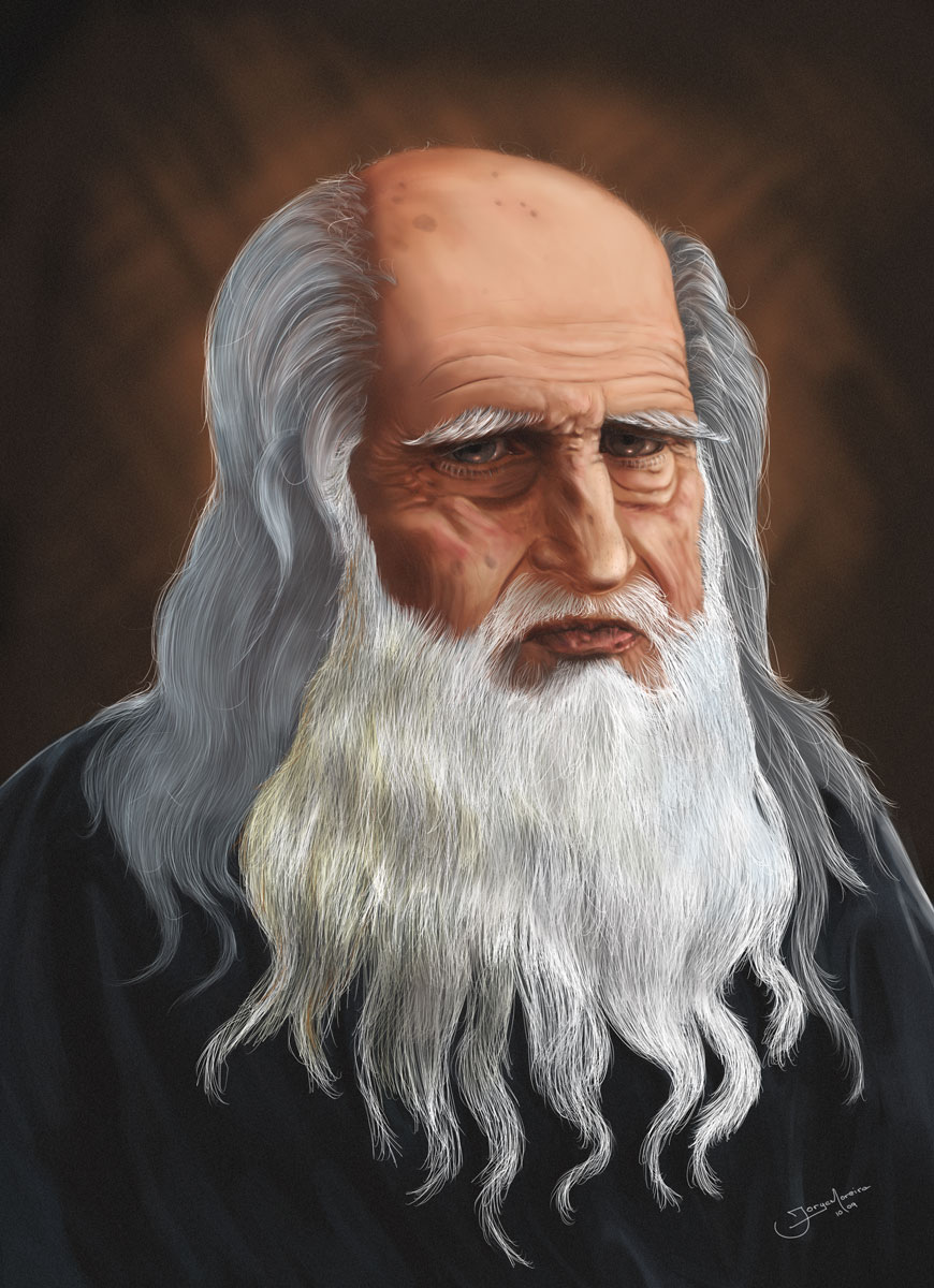 Leonardo Da Vinci by r3cycled on DeviantArt
