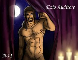 Older Ezio by Jade-Hernandez
