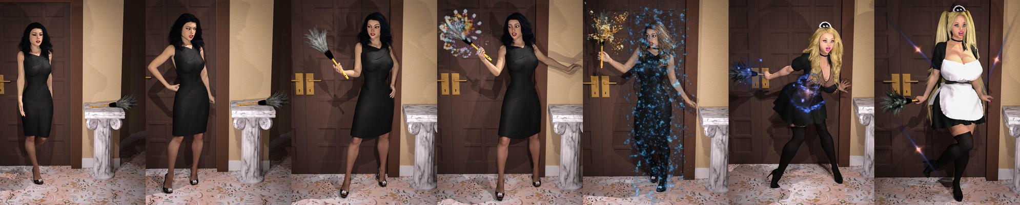 The Maid's Gift by abimboleb