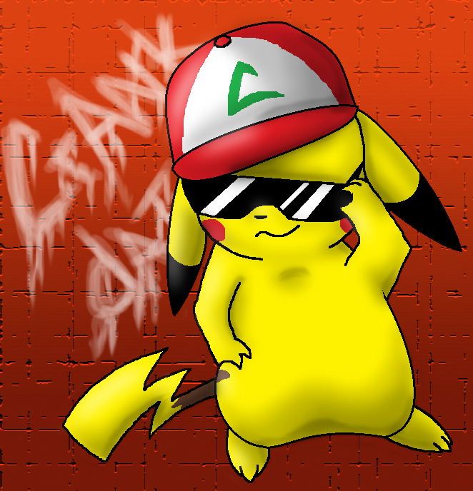 gangster pikachu - photo #34