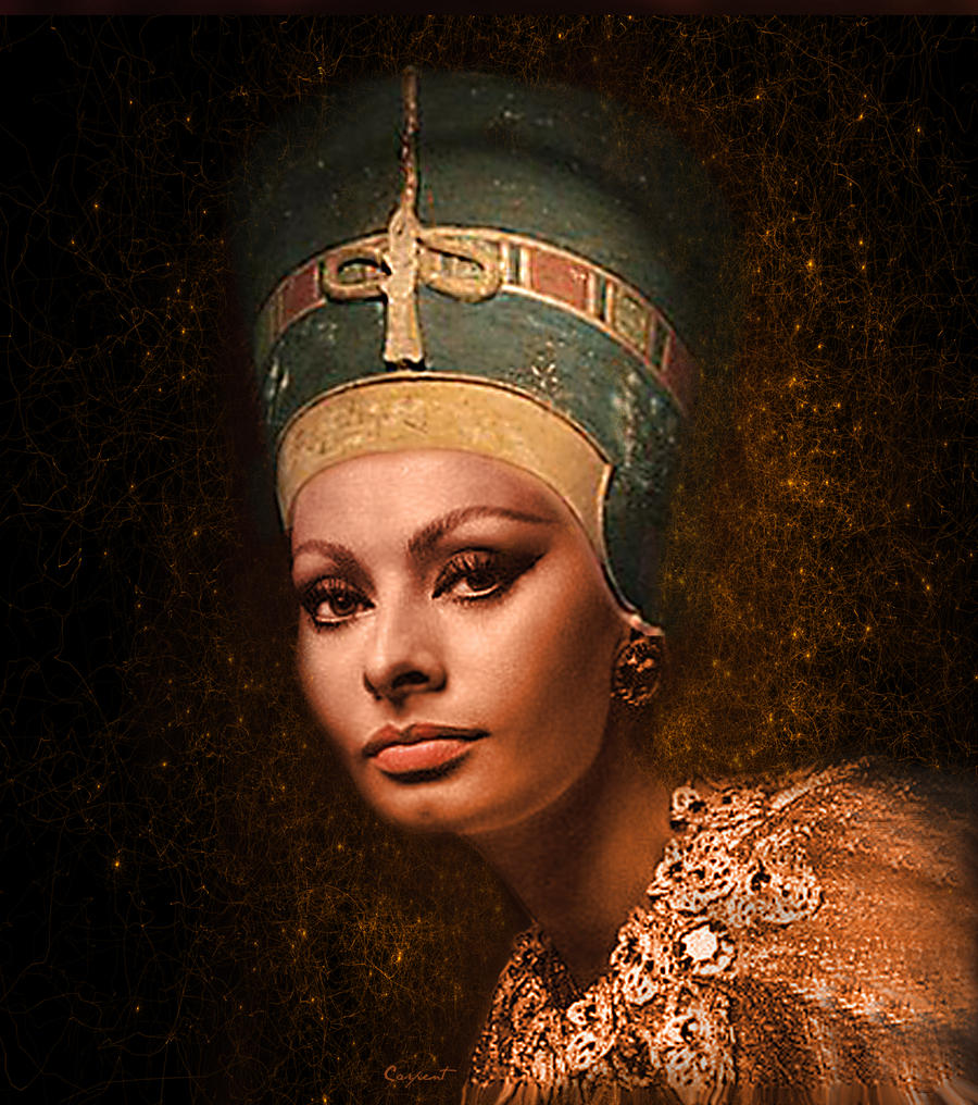 Nefertiti Sofia by Priapo40 on DeviantArt
