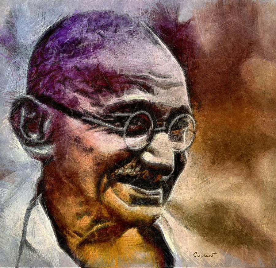 Mahatma Gandhi by Priapo40