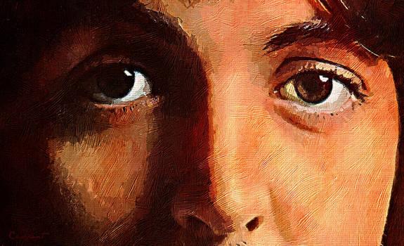 Paul McCartney -close-up-