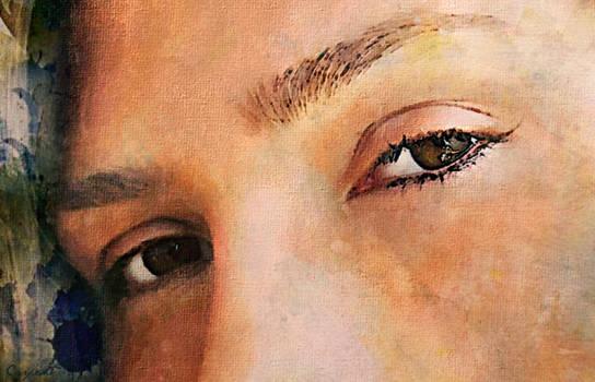 Visage -close-up