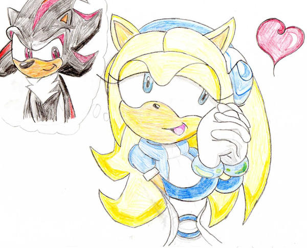 Maria thinks about Shadow... by FilipaTheHedgehog on ...