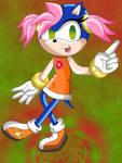 Anna the Hedgehog .:Colored:.