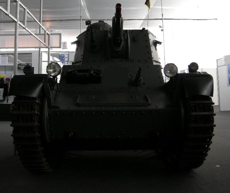 Panzer 38(t) de frente by Tankdog81