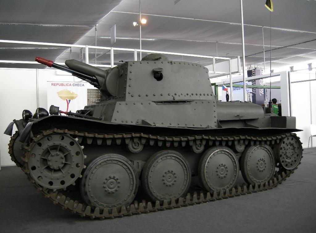 Panzer 38(t) by Tankdog81