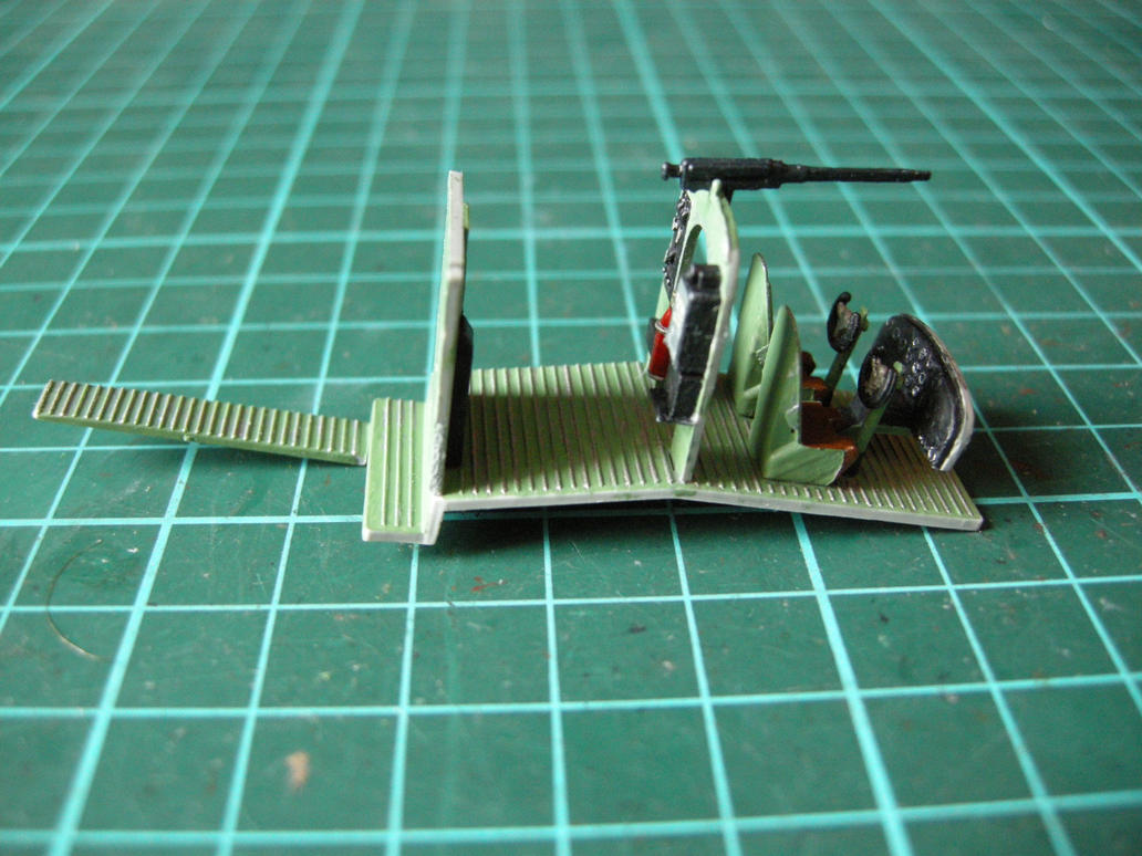 En obras: Savoia-Marchetti S.M. 79 escala 1/72 by Tankdog81