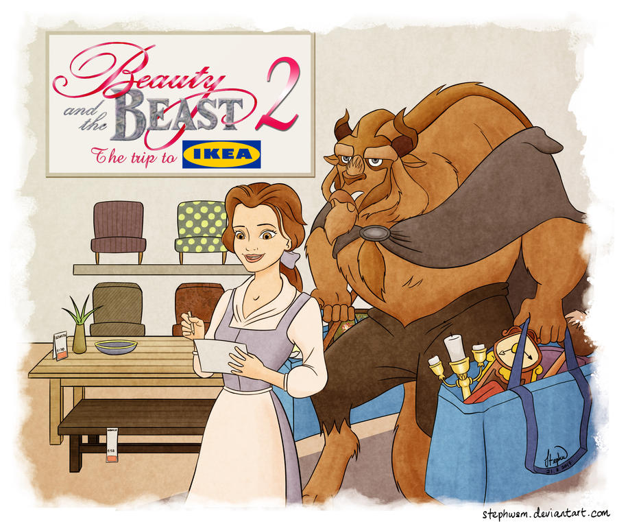 Beauty and the Beast 2: The Trip to Ikea by StephWSM