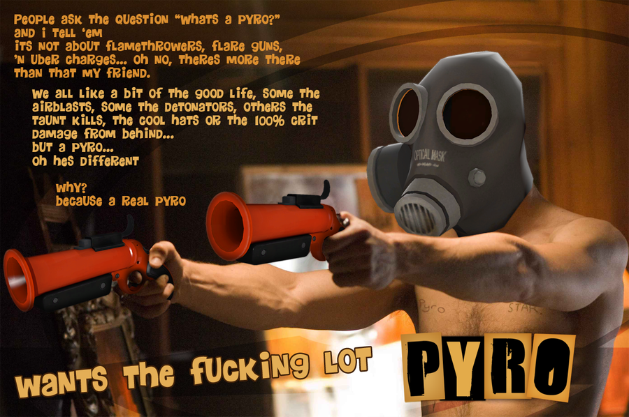 A Real Pyro by Fasckira