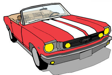 1966 Ford Mustang by eye-max