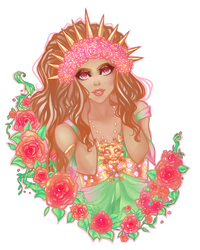 Princess Gamma Leonis by ai-sanura