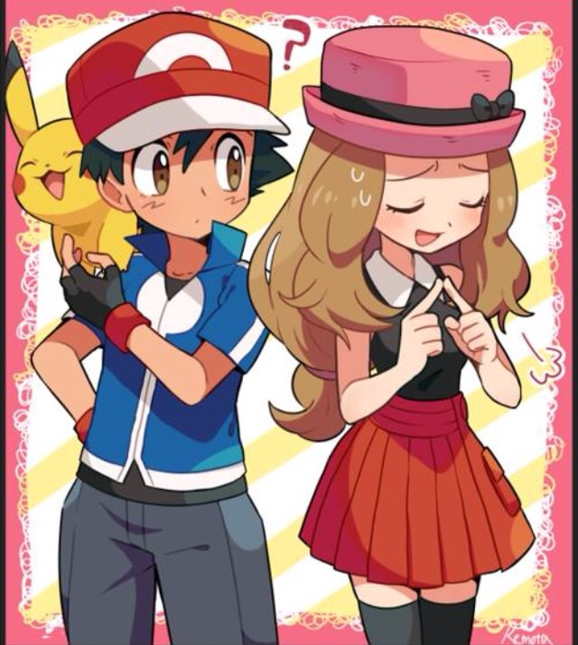 Amourshipping (Ash x Serena) General Discussion (SPOILER ...  Amourshipping (...