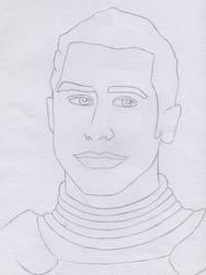 Kaidan Alenko Sketch - Mass Effect