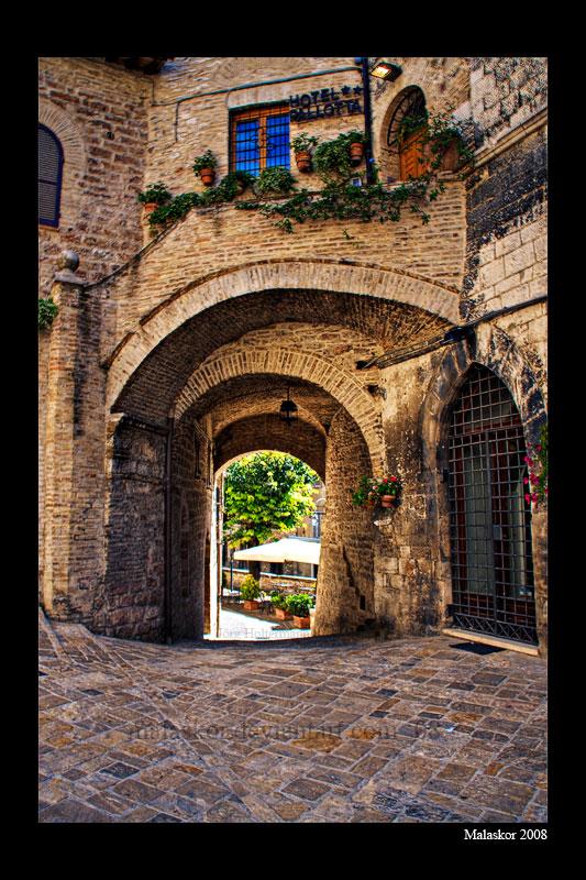Medieval passage by malaskor
