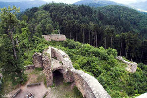 Burg Sausenberg - Tower View by malaskor