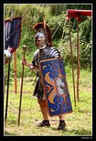 Officer in the Roman Legion by malaskor
