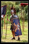 Officer in the Roman Legion