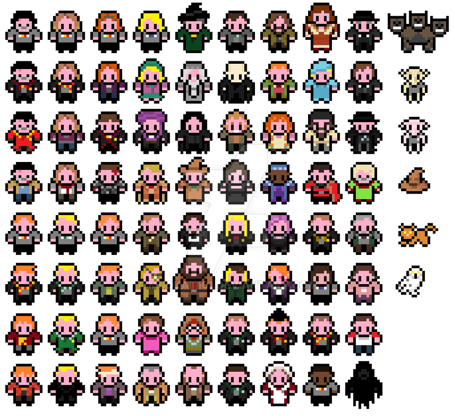 pixel_harry_potter_sprites_by_mudkat101-