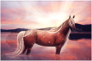 Fire In The Sky - Commission by Ellessy