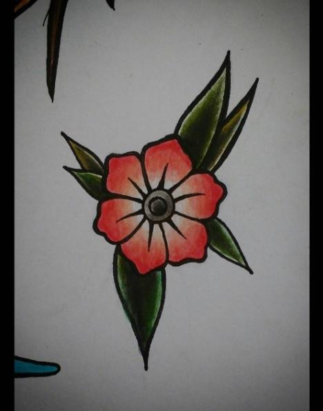 Small Flower Tattoo Design By Vinivolpini On Deviantart