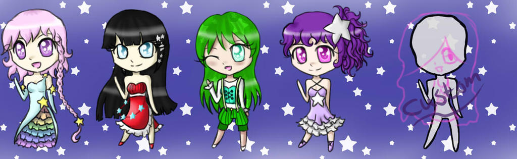 Fund Raiser LuckyStars Adopts Closed by MyuOneeChan