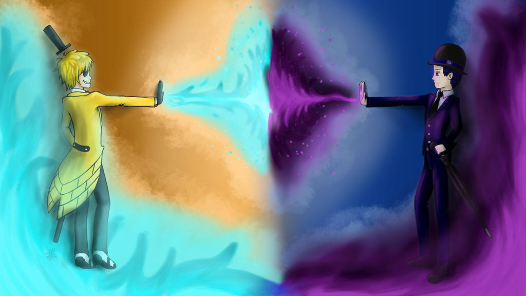 Cipher duel by MsTobiGirl