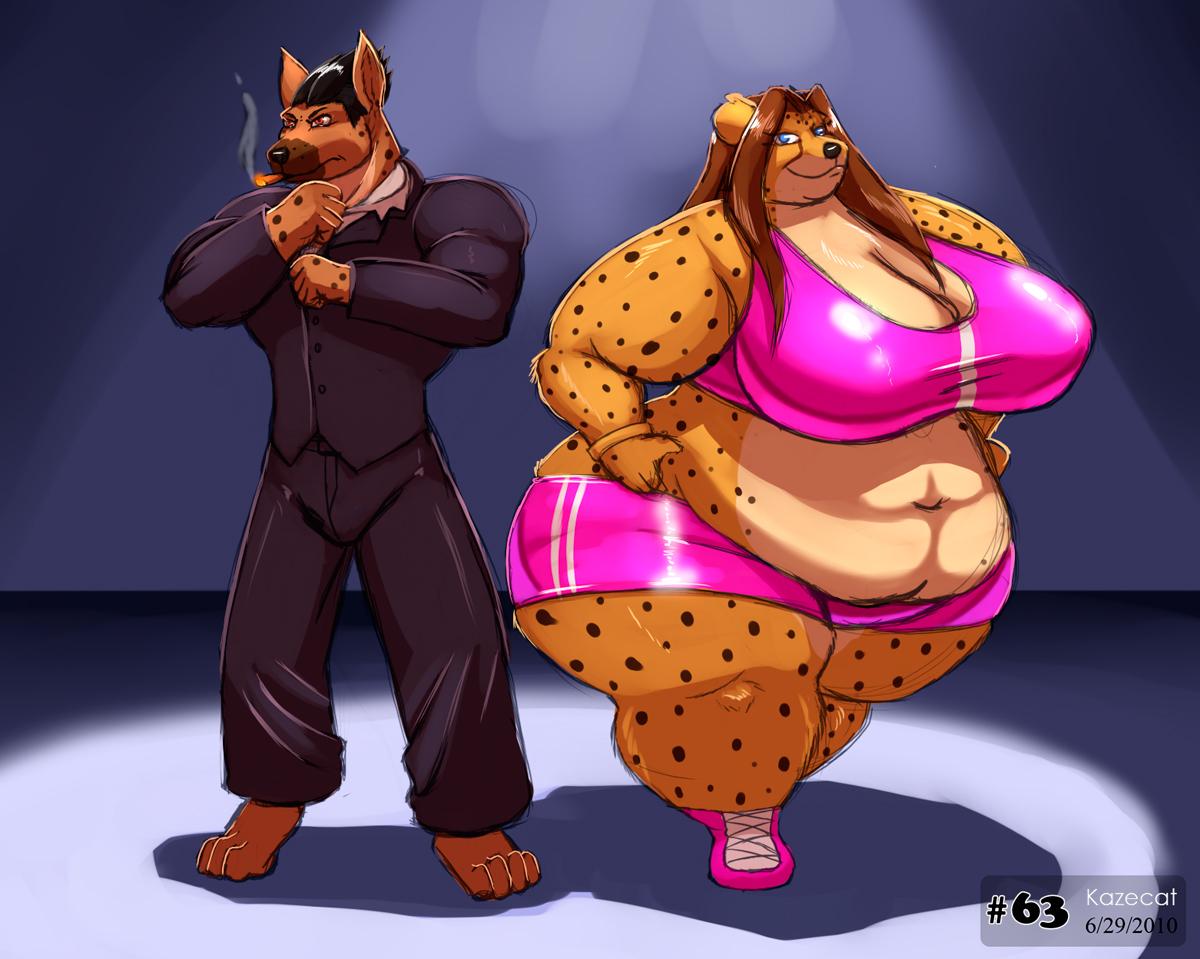 Reginald and Susan by Kazecat