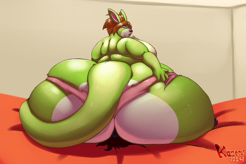 Kiwi on the Body by Kazecat