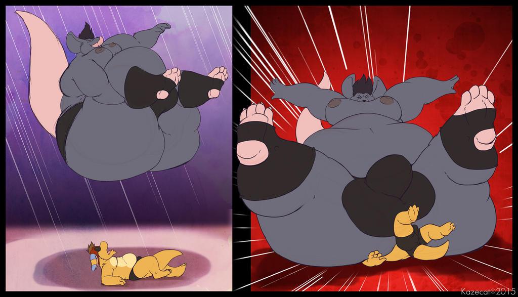 Amazing Crashing Rat by Kazecat