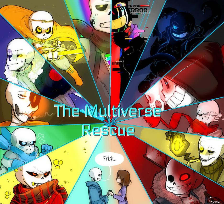 The Multiverse Rescue! by MUSTACHEfreak