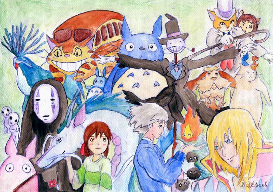 Ghibli by Hoshiko91