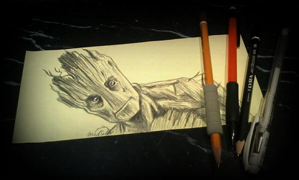I am Groot by Hoshiko91