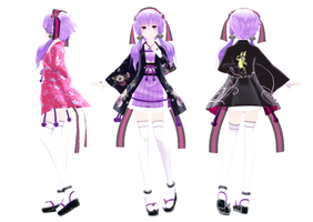 Yukari's kimono [DL Information ] by jangsoyoung