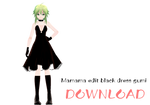 Mamama Black dress gumi [DOWNLOAD]