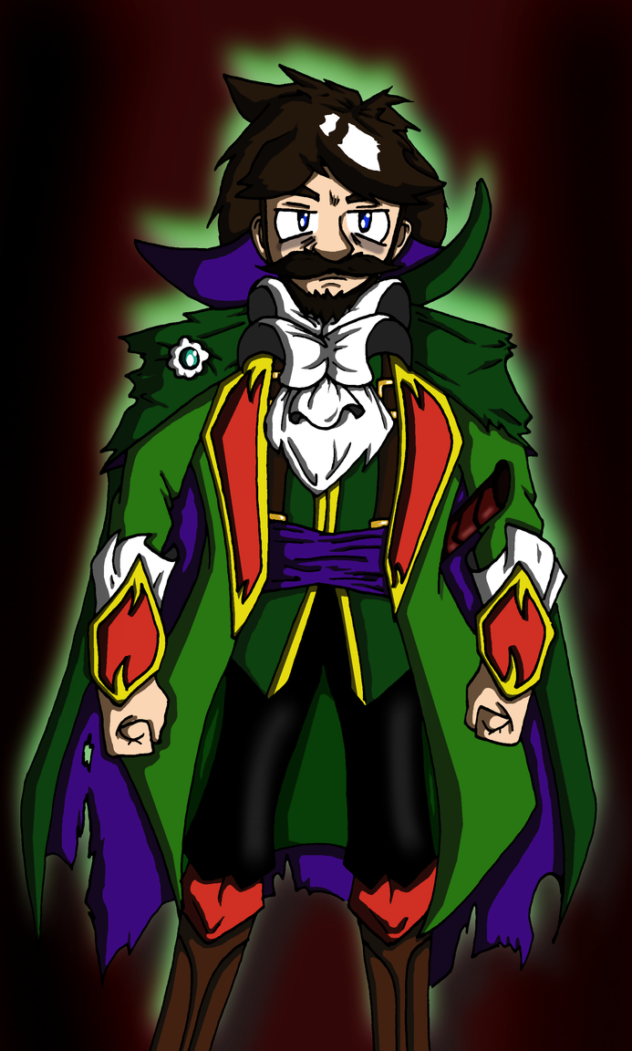 Lord Luigi of the Haunted Mansion by Jeticus