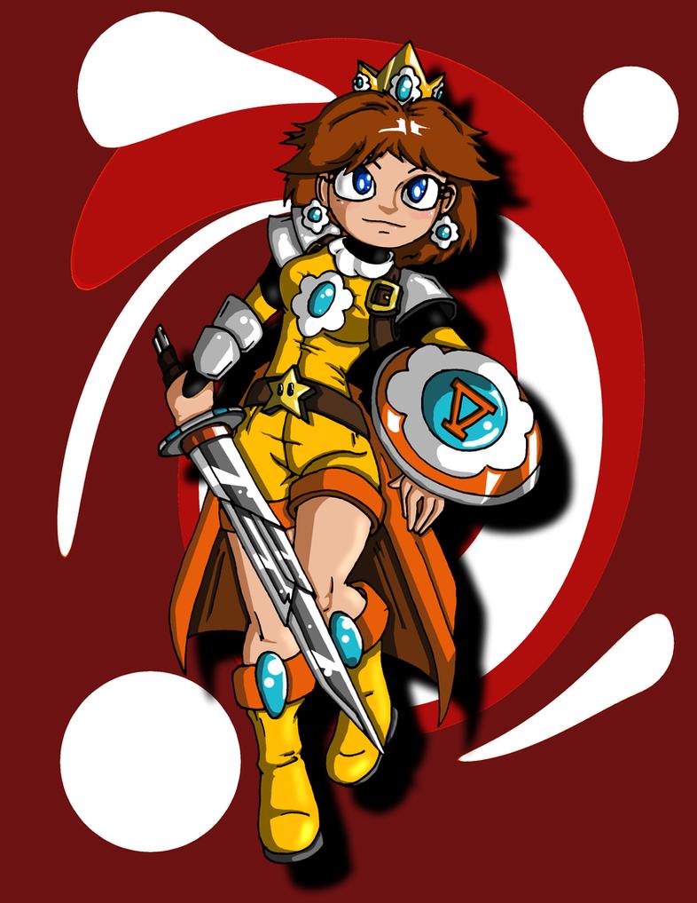 Princess Daisy (Battle Ready) by Jeticus
