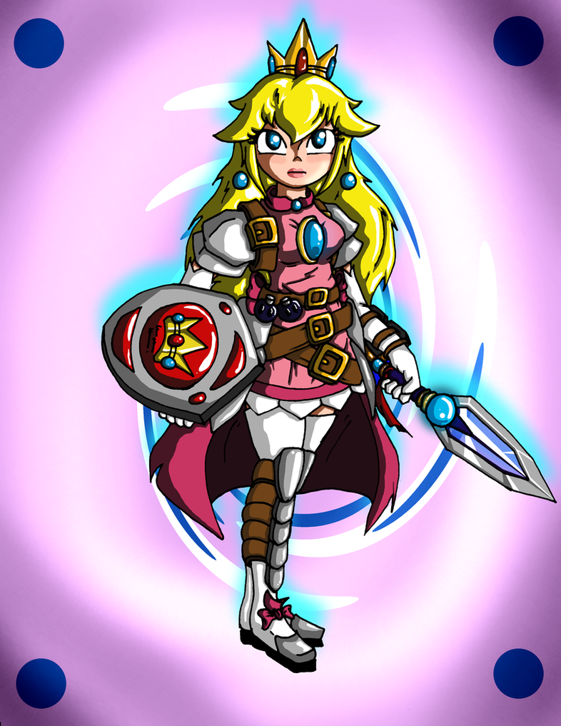 Empress Peach (Battle Ready) 2.0 by Jeticus