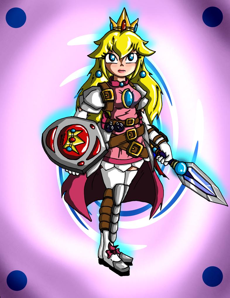 Empress Peach (Battle Ready) 2.0 by Jeticus