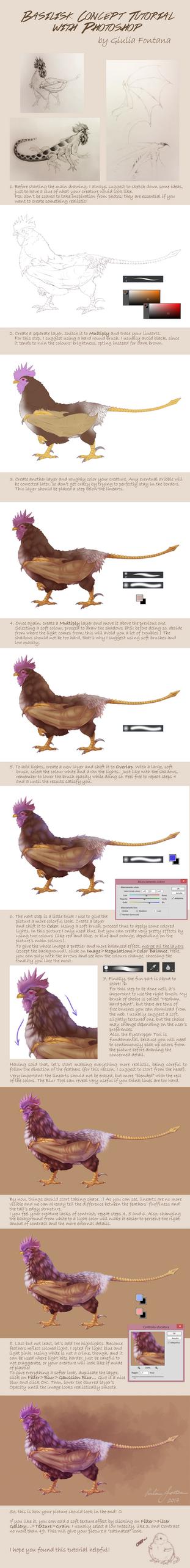 Tutorial - Basilisk concept by BlackDragon-kin