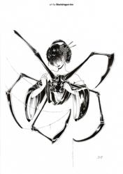 Inktober 2 by BlackDragon-kin