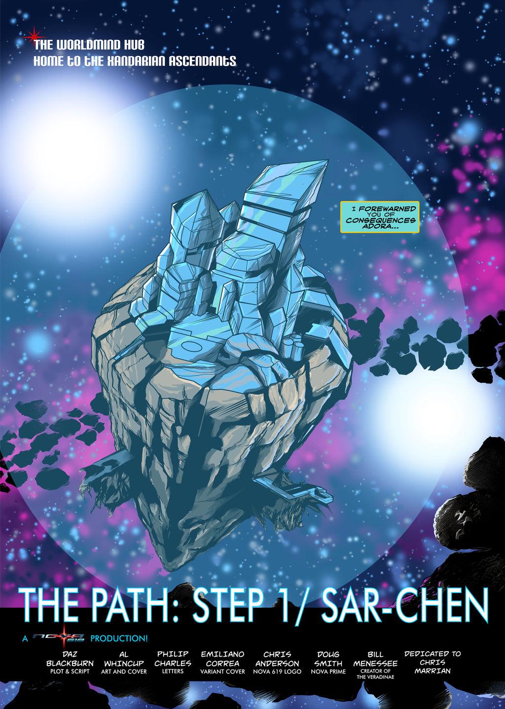 NOVA 619 NO.31  The Path Part 1 Page 1
