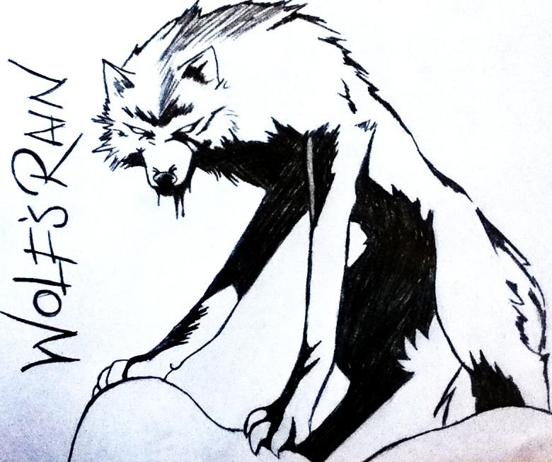 Wolfs Rain Kiba by OrgasmusMaximus