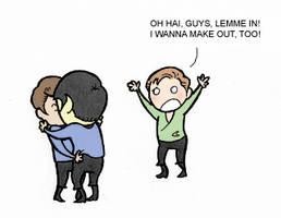 Star Trek - OT3 by WallyHindle